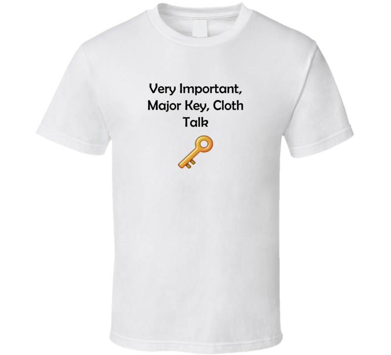 DJ Khaled The Key Cloth Talk T Shirt