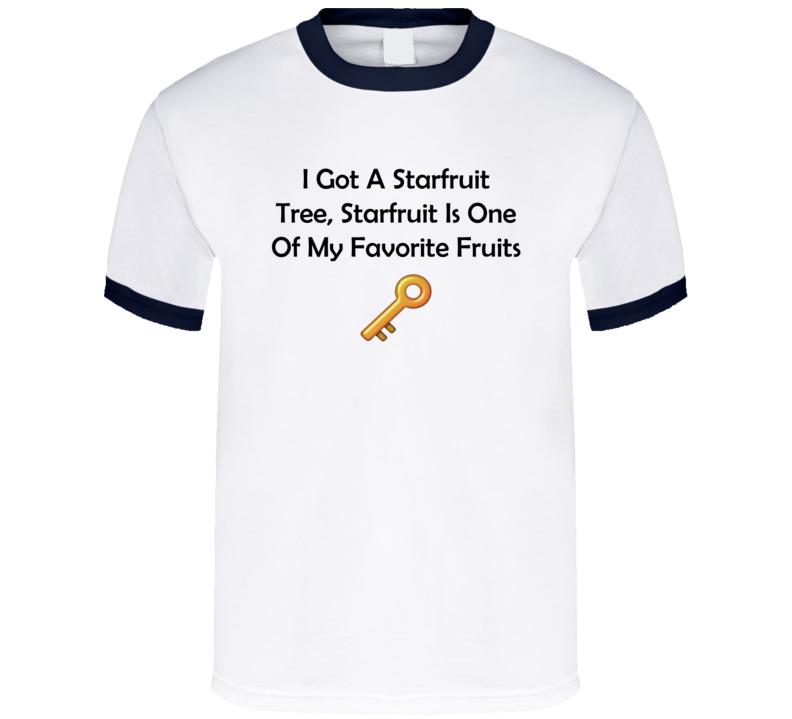 DJ Khaled The Key Starfruit Is One Of My Fav Fruits T Shirt