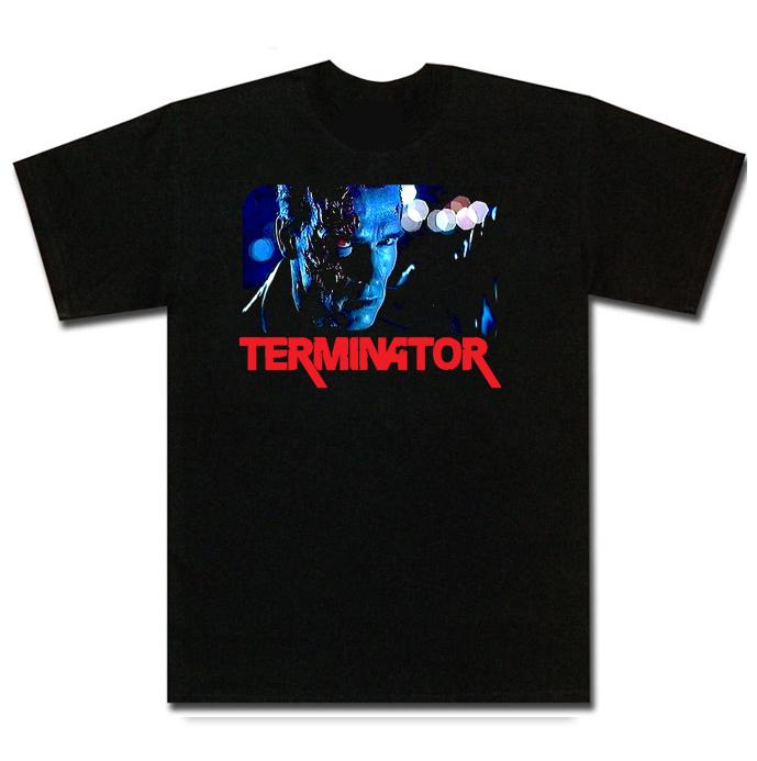 T2 Terminator Arnold Schwarzenegger Movie T Shirt