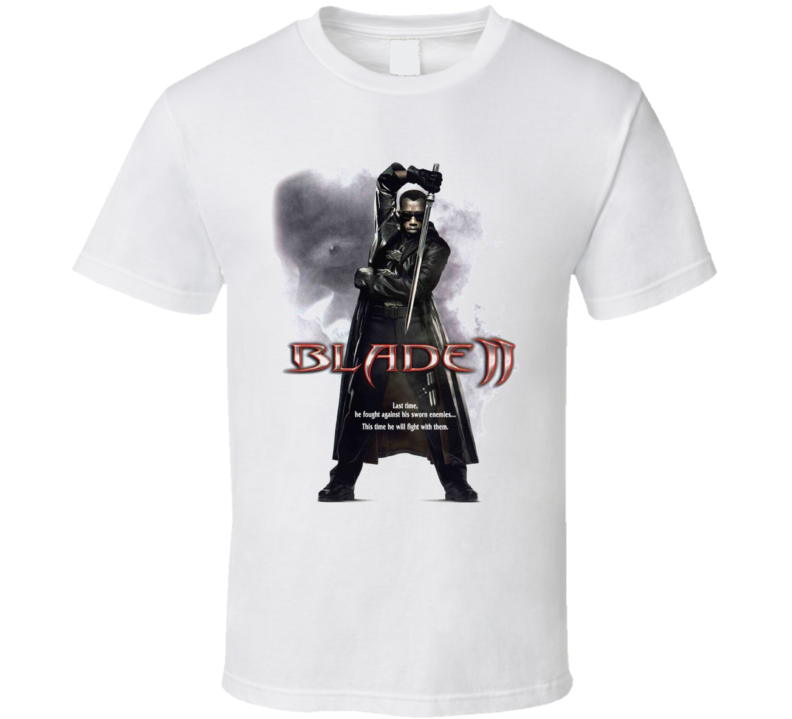 Wesley Snipes Blade II Movie T Shirt