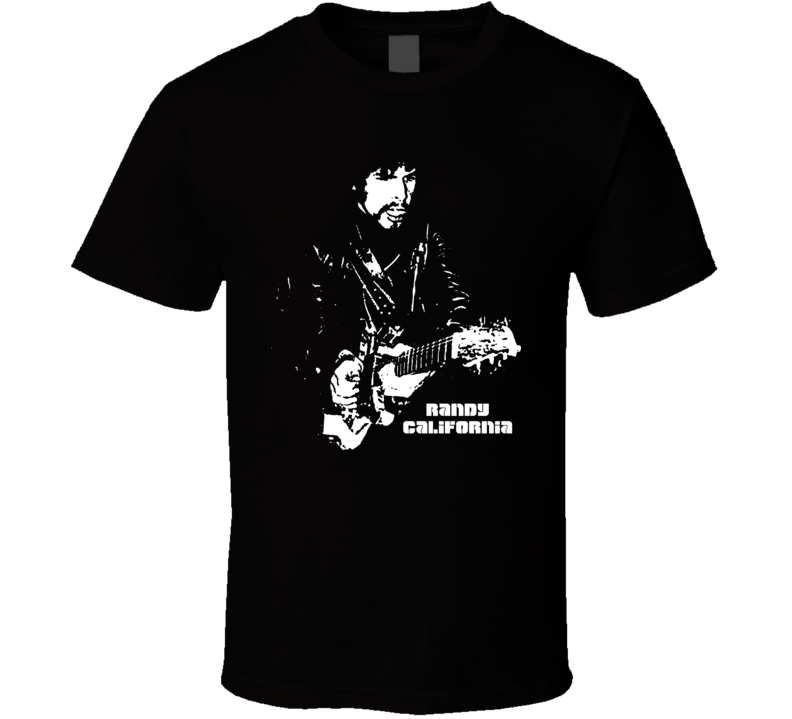 Randy California Guitarist T Shirt