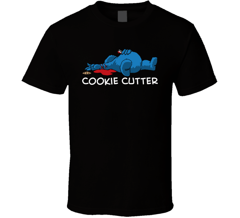 Cookie Monster Cookie Cutter Funny T Shirt