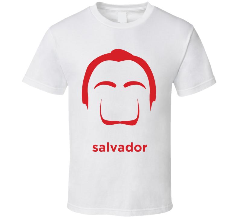 Salvador Dali Artist Painter T Shirt