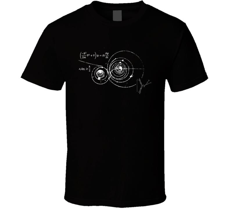 Einstein's Thoery Emc 2 T Shirt
