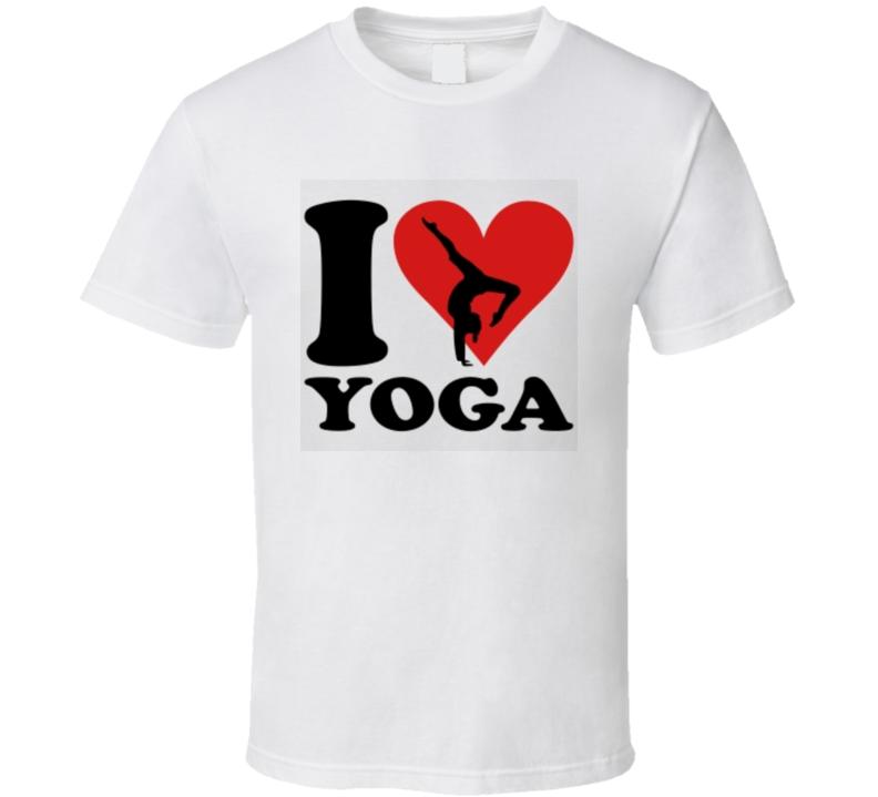 I Love Yoga TShirt