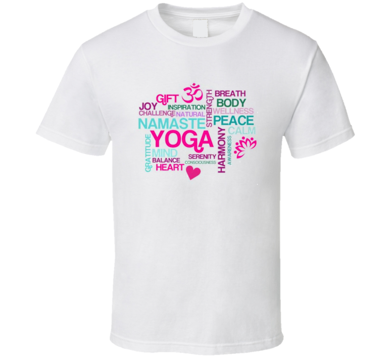 Yoga Well Being Inspiration TShirt