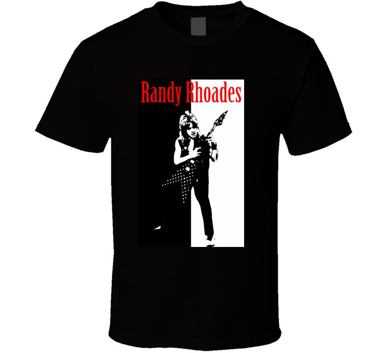 Randy Rhoads Guitarist T Shirt