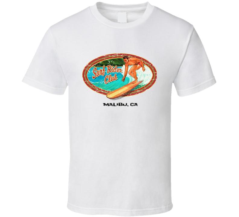 Surf Rider Club Retro TShirt