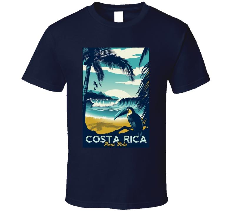 Costa Rica Pura Vida TShirt