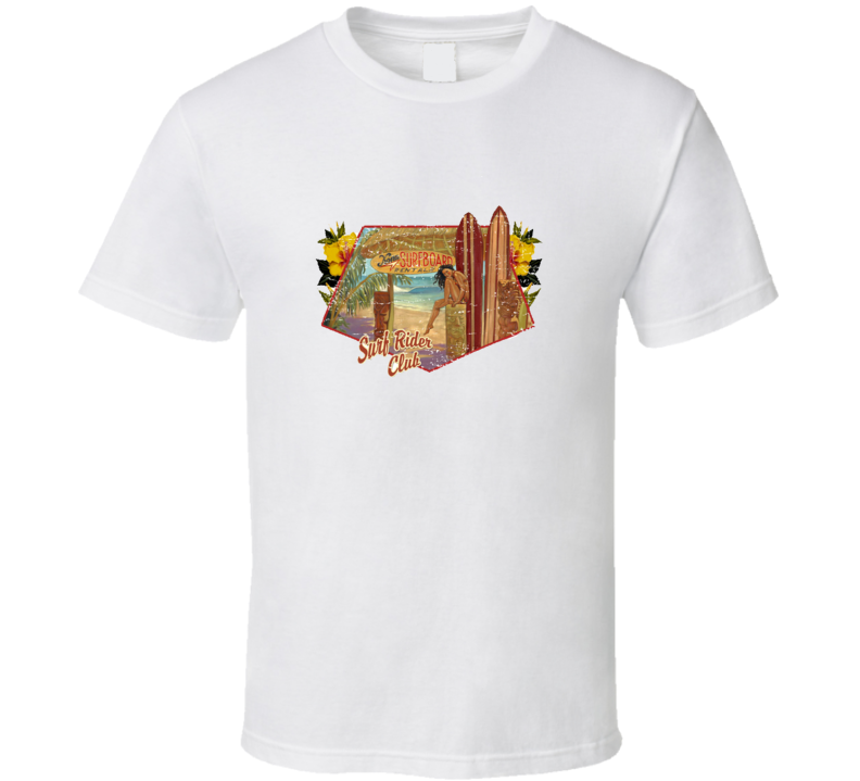 Retro Surf Hawaii TShirt