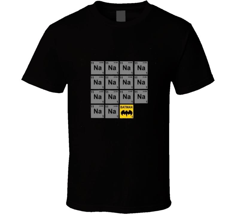 Batman Periodic Table TShirt