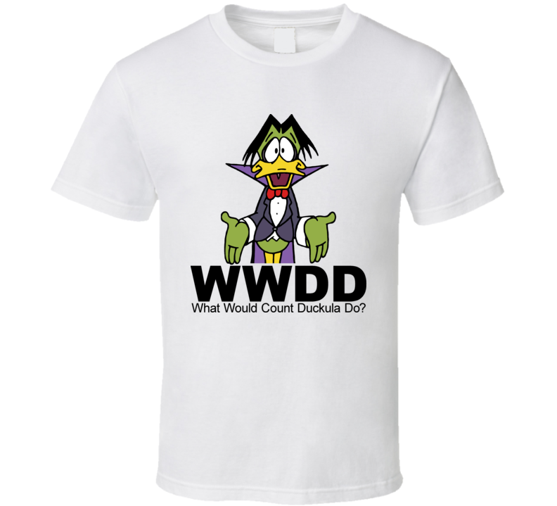 Count Duckula Cartoon T Shirt