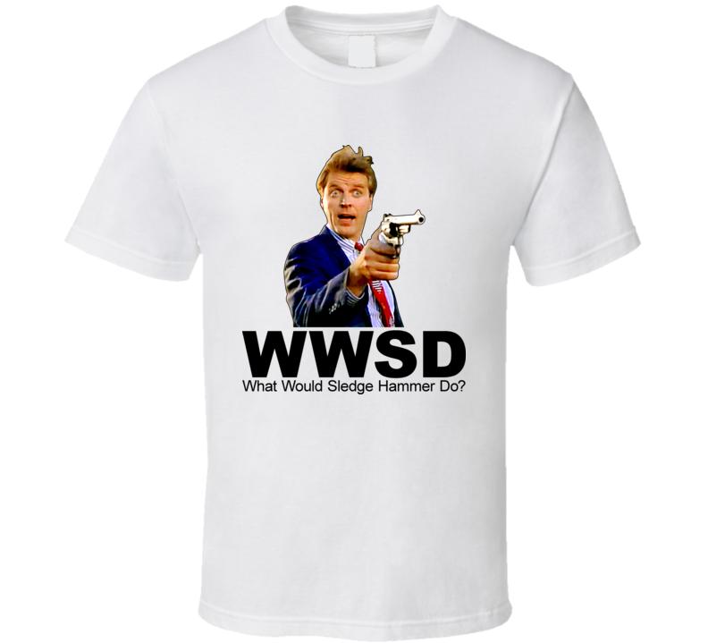 Detective Sledge Hammer T Shirt