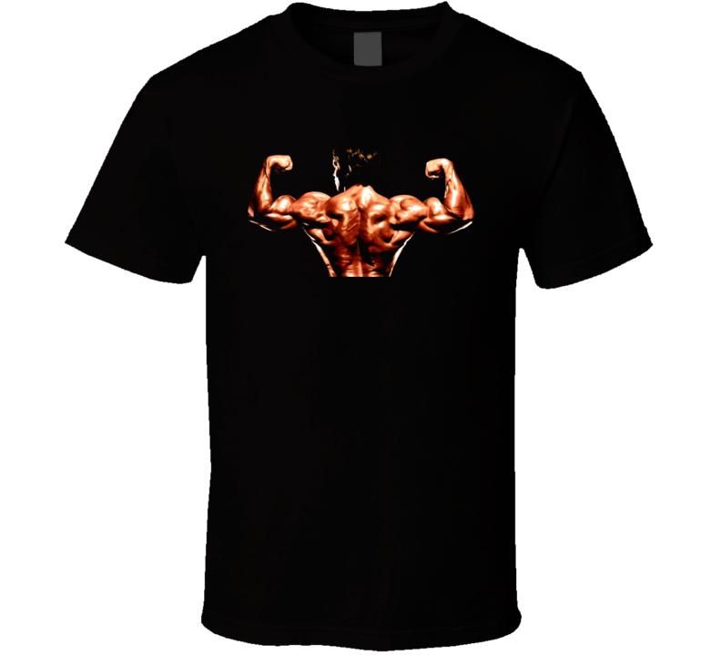 Arnold Schwarzenegger Posing Body Builder T Shirt