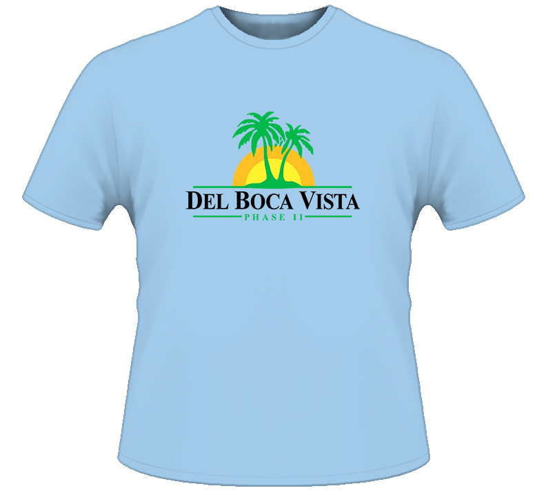 Del Boca Vista Seinfield T Shirt