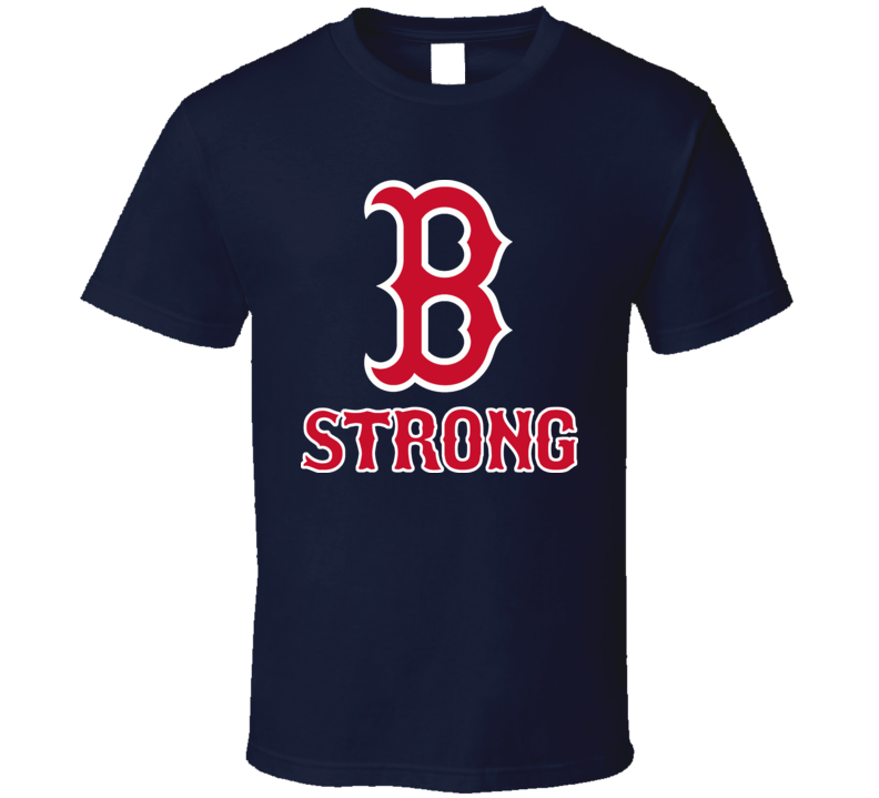 Boston Strong Marathon 2013 Red Sox Style T Shirt