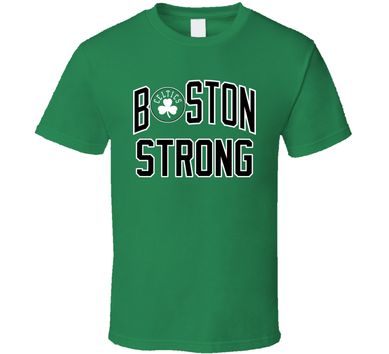 Boston Strong Celtics Marathon 2013 Tribute T Shirt