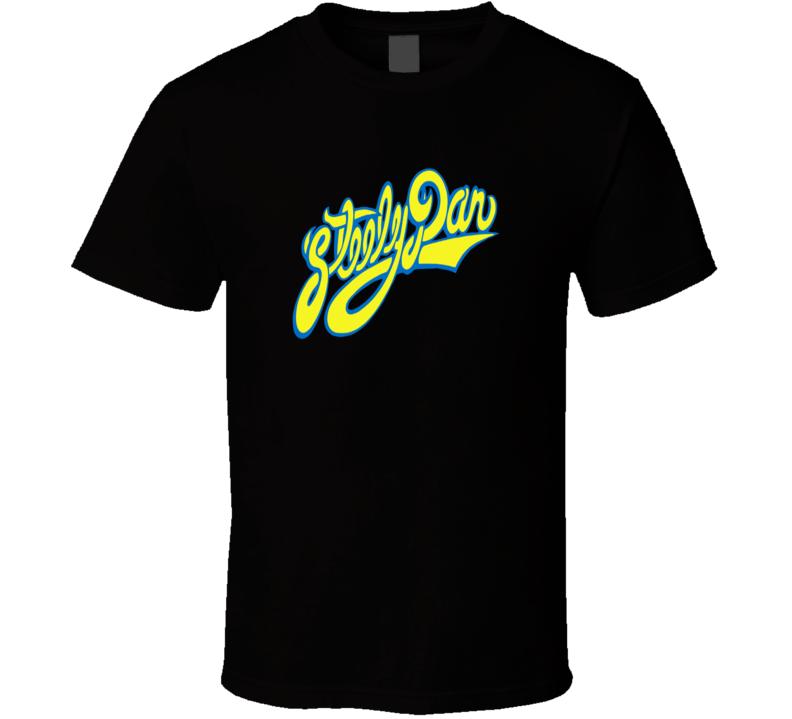 New Steely Dan Logo Rock Classic Music Legend Men's Black T-Shirt