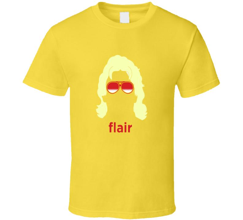 Rick Flair Classic Retro SHades Nature Boy Face Wrestling T Shirt