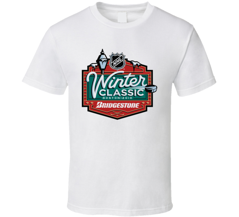 2010 Boston Winter Classic T Shirt