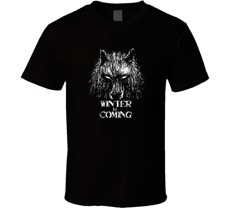 Game Of Thrones Direwolf Winter Is Coming T-Shirt