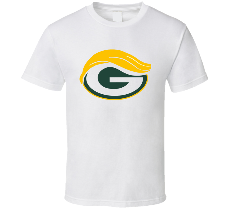 Green Bay Donald Trump Packers Wisconsin Presidential Political T Shirt