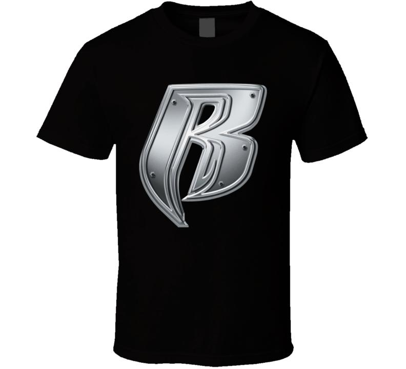 Ruff Ryders Rap Label Logo T Shirt