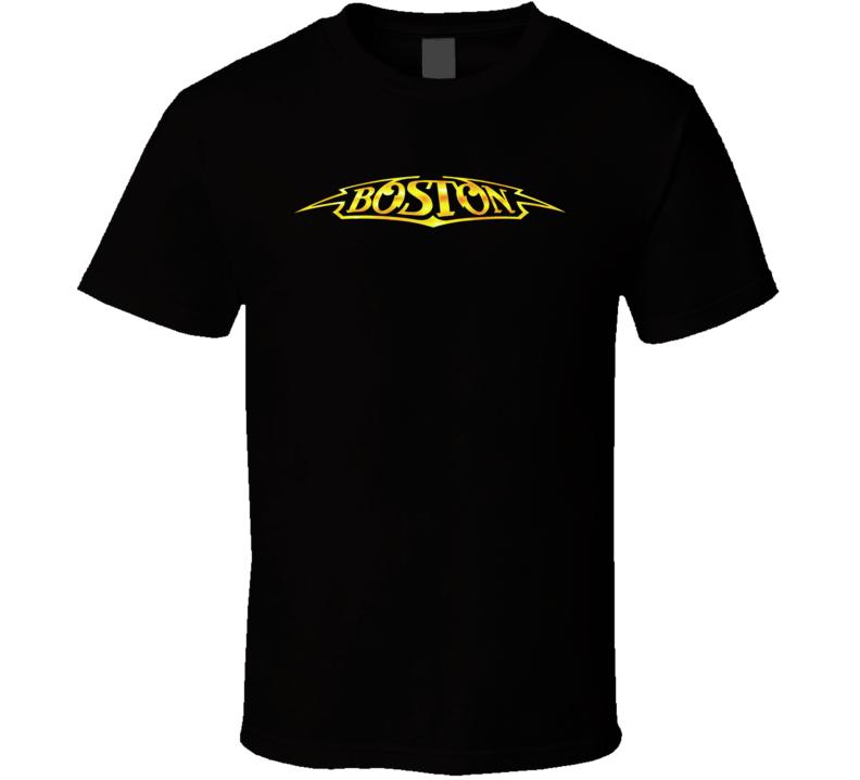 Boston Rock Band Classic Logo T Shirt