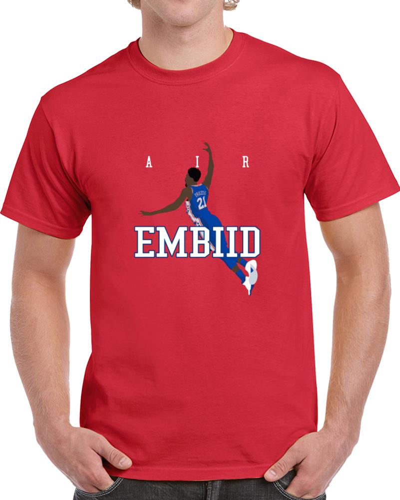 Air Joel Embiid Philadelphia Basketball Player Star Parody T Shirt