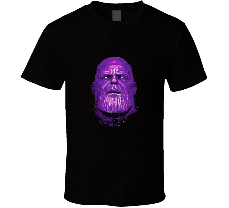 Thanos God Avengers Comic Big Face Movie T Shirt
