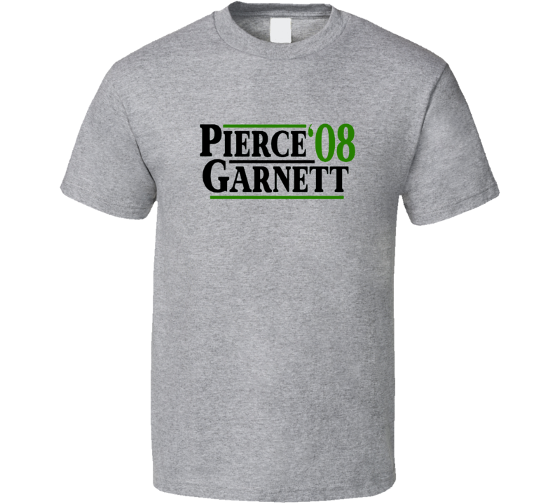 Pal Pierce Kevin Garnett 2008 Champs Boston Basketball T Shirt