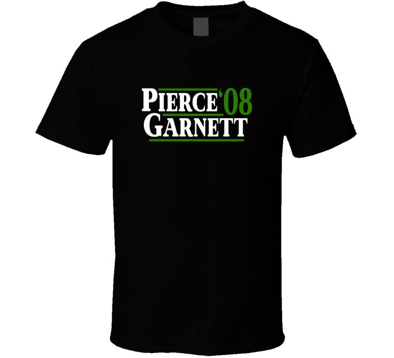 Paul Pierce Kevin Garnett 2008 Champs Presidential Boston Basketball T Shirt