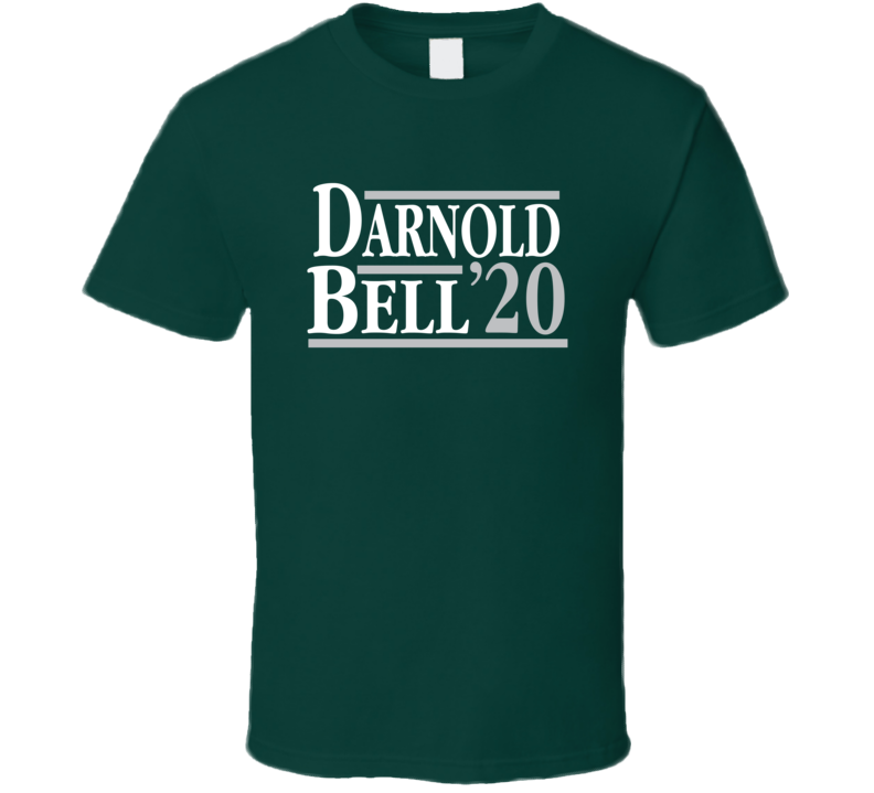 Sam Darnold Le'veon Bell 2020 Election Style New York Football Fan T Shirt