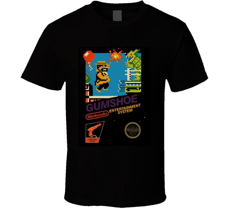 Gumshoe Nes Retro Video Game T Shirt