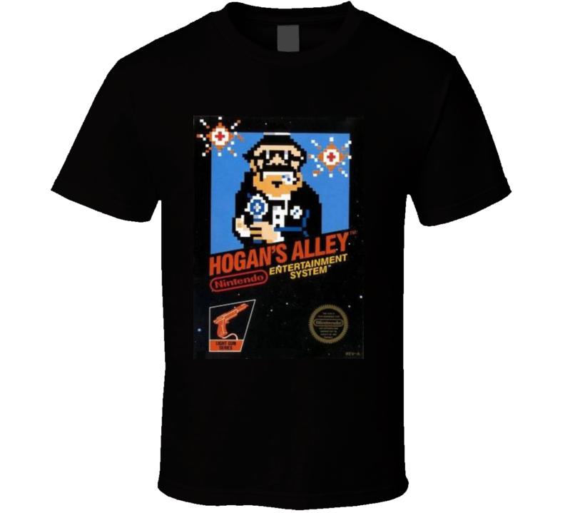 Hogans Alley Nes Retro Video Game T Shirt