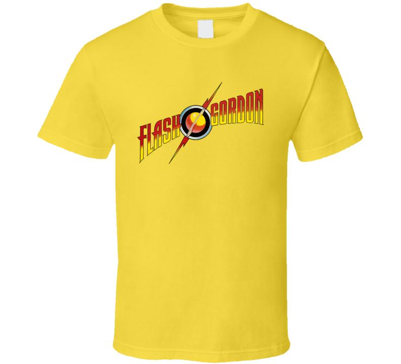 Flash Gordon Comic Classic Logo T Shirt
