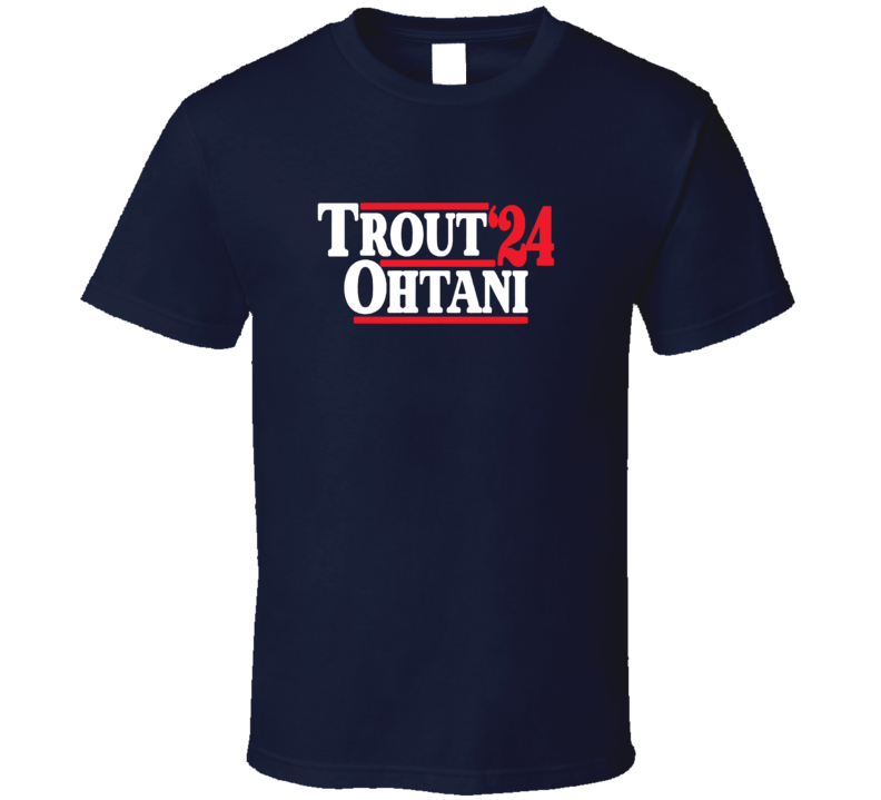 Trout Othani 24 Anaheim Baseball Fan T Shirt