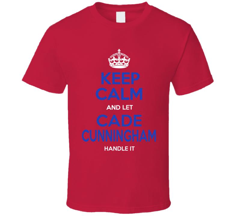 Keep Calm Cade Cunningham Detroit Basketball T Shirt