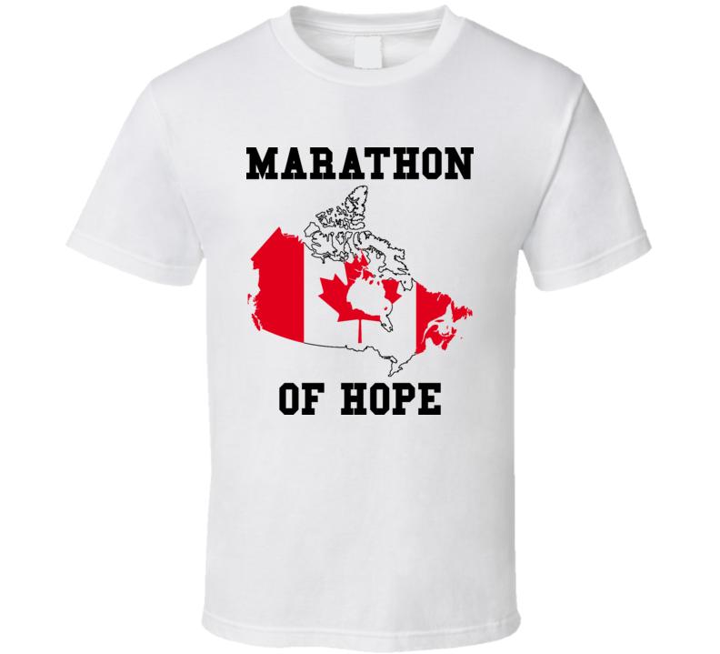 Terry Fox Marathon Of Hope T Shirt