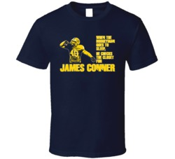 James Conner Boogeyman Pitt Pittsburgh Football T Shirt
