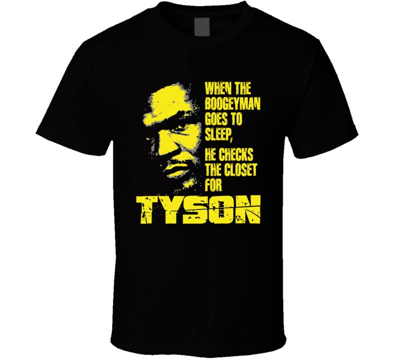 Mike Tyson Boxing Legend Heavyweight Champion Boogeyman Template