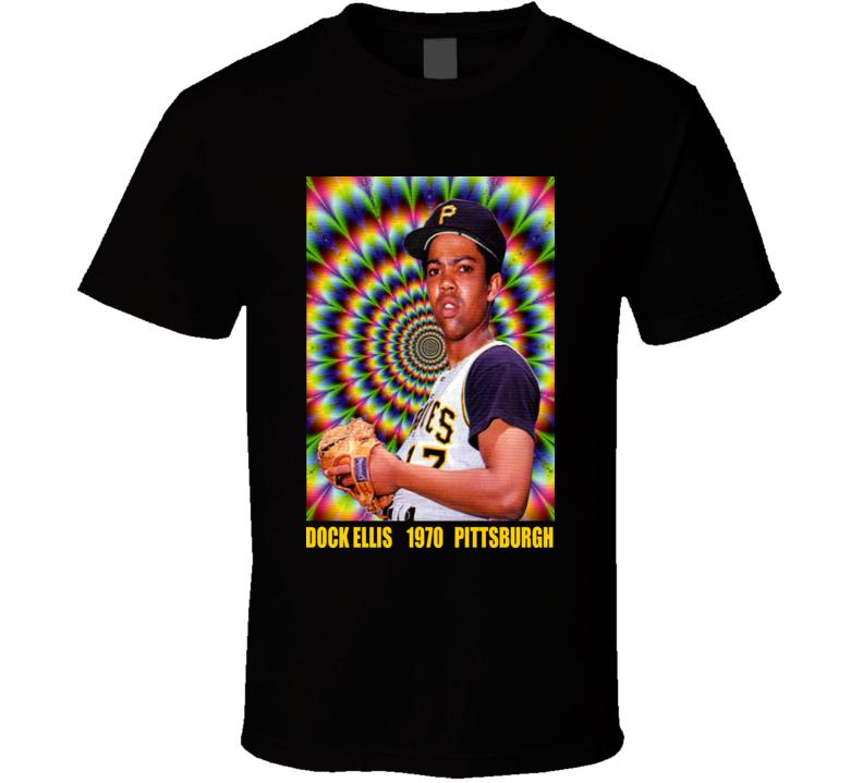 Baseball Dock Ellis Doc Pittsburgh Lsd T Shirt
