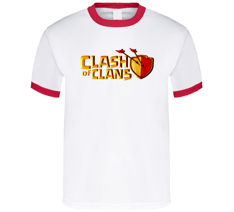 Clash Of Clans Game App T Shirt