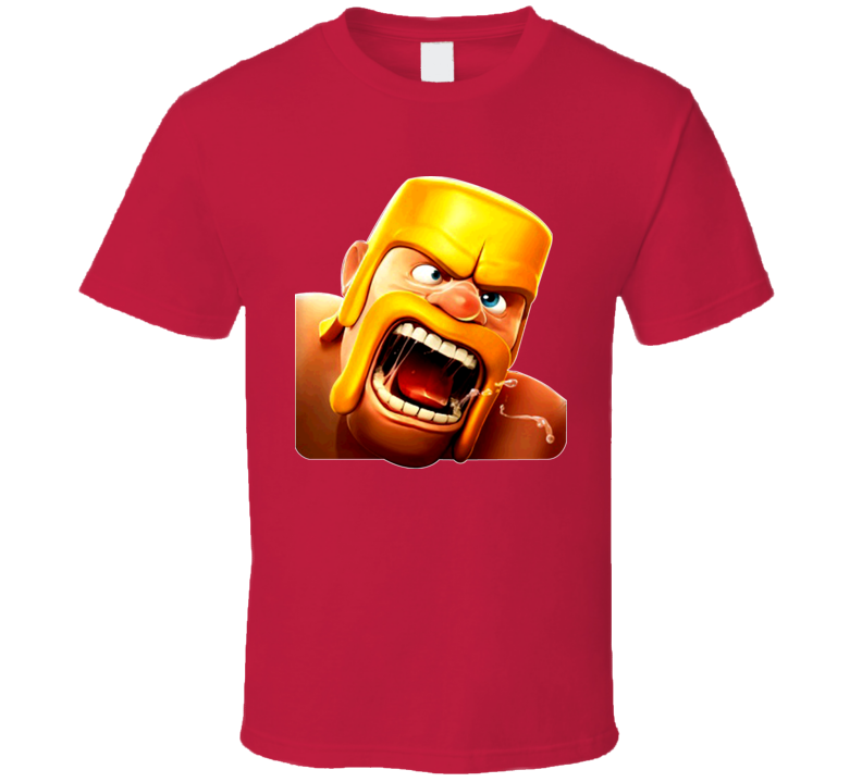 Clash Of Clans Warrior Game App T Shirt