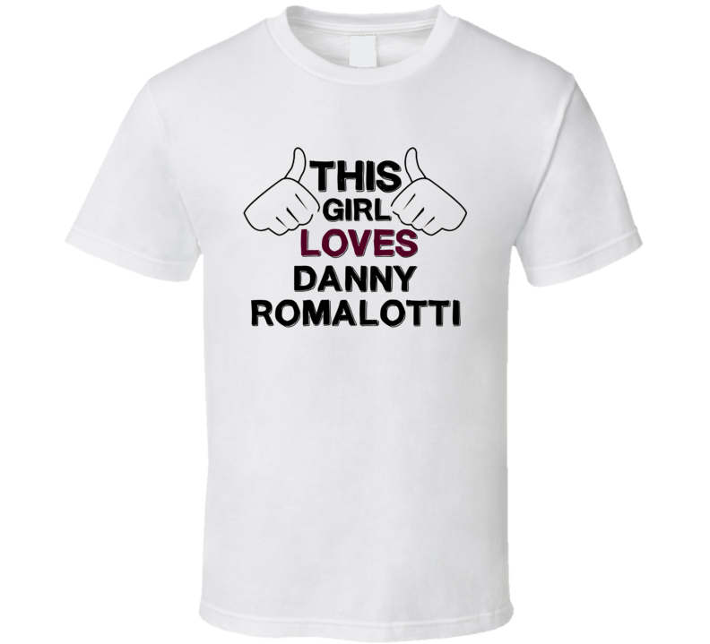 This Girl Loves Danny Romalotti The Young and the Restless Fan T Shirt
