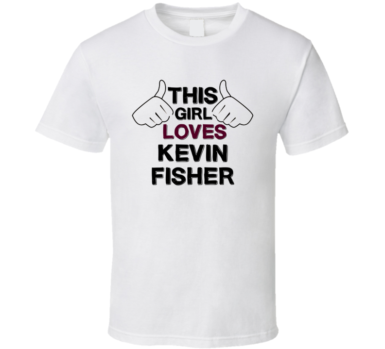 This Girl Loves Kevin Fisher The Young and the Restless Fan T Shirt