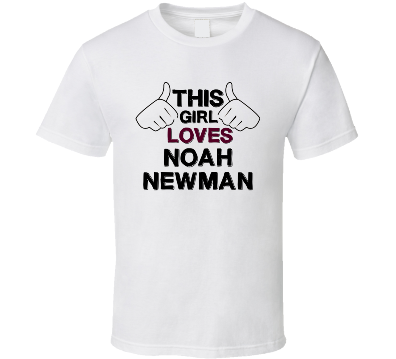 This Girl Loves Noah Newman The Young And The Restless Fan T Shirt