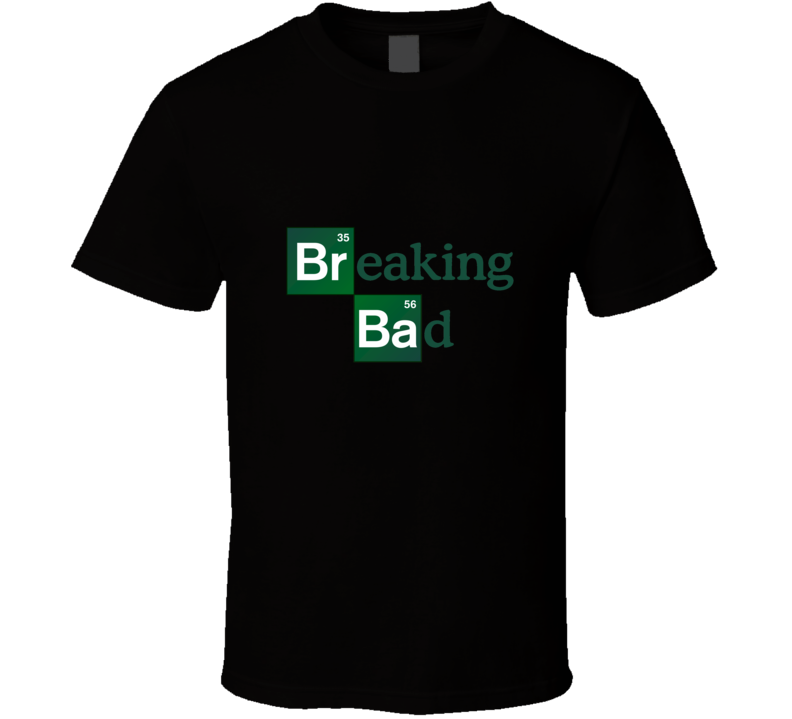 breaking bad periodic table tshirt