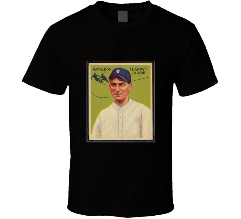 Napoleon Larry Nap Lajoie baseball card tshirt 1933