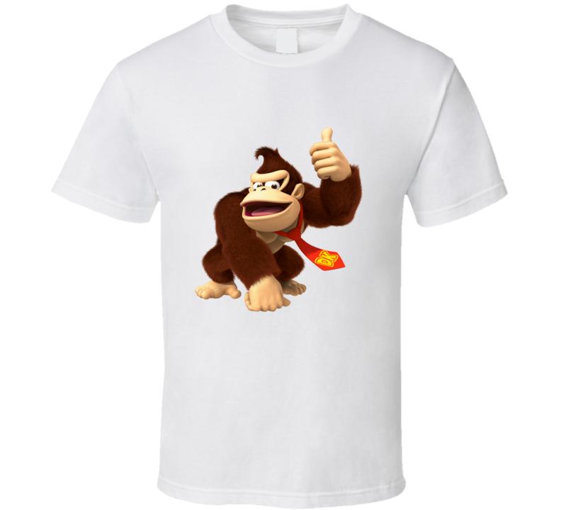 Donkey kong arcade game graphic tshirt tees